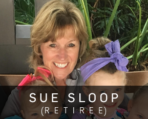 Sue Sloop CUWFA Retiree